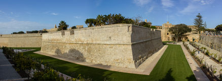 Mdina Malta. Medina is the ancient capital of Malta. Also known as the Old Town Stock Image