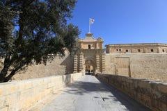 Mdina,Maltese Islands. Castle in Mdina,Maltese Islands Royalty Free Stock Photo