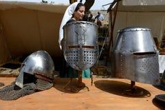 The Mdina medieval festival and tourists. MDINA, MALTA - APRIL 19: The Mdina medieval festival and tourists on April 19, 2015 in Mdina, Malta. More then 1,6 mln Stock Photo
