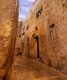 Mdina - medieval walled town in Malta Stock Photos