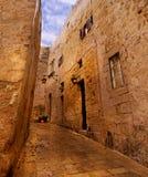Mdina - mittelalterliche ummauerte Stadt in Malta Stockfotos