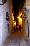 Mdina by Night royalty free stock photography