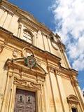 mdina Paul s ST της Ευρώπης Μάλτα καθ&epsil Στοκ Εικόνες