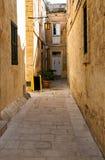 Mdina - silent city of Malta. Street of Mdina - silent city of Malta Stock Photography