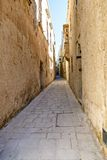 Mdina - silent city of Malta Royalty Free Stock Image