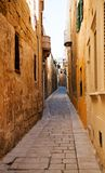 Mdina - silent city of Malta Royalty Free Stock Photos