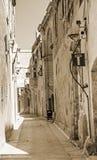 Mdina - silent city of Malta, vintage style Stock Image