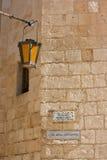 Mdina Straßenszene Lizenzfreie Stockbilder