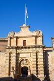 Mdina Town Gate, Malta. Royalty Free Stock Images