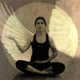 Méditation d'ange Photos stock