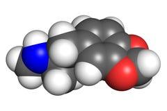 MDMA分子 向量例证