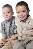Me And My Brother Royalty Free Stock Image