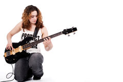 Me And My Music Stock Photography
