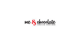 Me and chocolate Stock Images