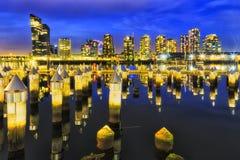 Me Docklands Pins Set Stock Image