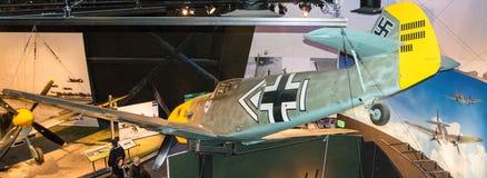 Me-109: een Duitse WO.II-vechter Royalty-vrije Stock Afbeeldingen