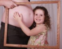 Me en baby Royalty-vrije Stock Afbeelding