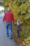 Me en Opa Stock Afbeeldingen