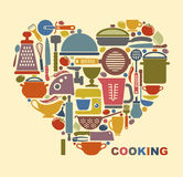 Me gusta cocinar Foto de archivo