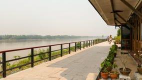 Me Kong riverside at Loei thailand Stock Images