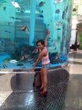 Me. Macau MGM water park Stock Images