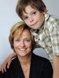 Me and mummy Stock Photos