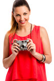 Me and my camera Royalty Free Stock Image