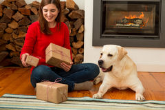 Me and my Dog love gifts Royalty Free Stock Images