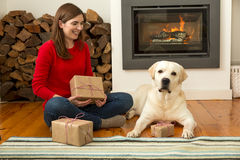 Me and my Dog love gifts Royalty Free Stock Photos
