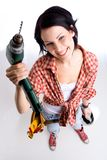 Me and my drill Stock Photo