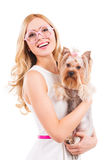 Me and my glamorous friend. Royalty Free Stock Photos