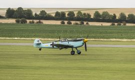 Me109 take off stock image