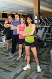 Me and Women at the Gym Royalty Free Stock Images