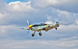 Me109 landing Royalty Free Stock Photos
