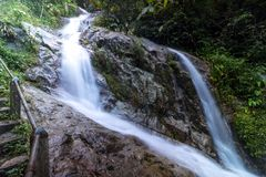 Mea-kam pong Wasser-Fall 3. Florida Lizenzfreies Stockfoto
