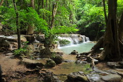 Mea-Kamin waterfall. Stock Photos