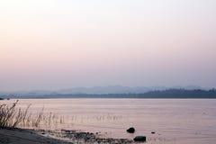 Mea klong river view landscape Royalty Free Stock Photo