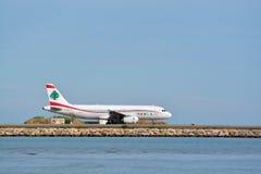 MEA Lebanon-Flugzeug stockfotografie