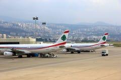 MEA Luchtvaartlijnen Royalty-vrije Stock Afbeelding