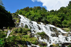 Mea Ya Waterfall, Doi inthanon , Chiangmai,Waterfall of Thailand Stock Images