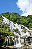 Mea Ya Waterfall, Doi inthanon , Chiangmai,Waterfall of Thailand Stock Image