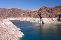 mead озера hoover запруды стоковое фото