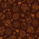 Mead seamless pattern illustration. Stock Photography