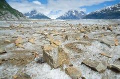 Meade Glacier 2 Stock Photo