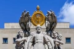 Meade statua - Waszyngton, DC zdjęcie stock