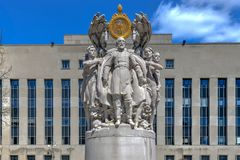 Meade Statue - Washington, DC Stockfotos