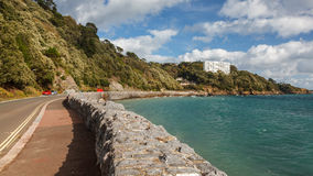 Meadfoot Bay Torquay Stock Image