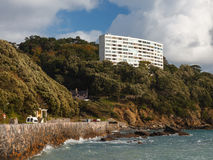 Meadfoot Bay Torquay Stock Photography