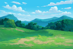 Free Meadow Background Stock Image - 59463781
