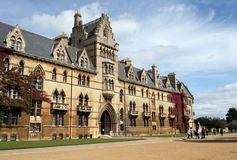 The Meadow Building, Christ Church College Royalty Free Stock Photo